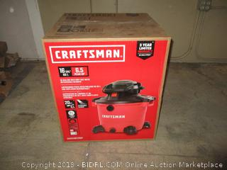 Craftsman wet/dry Vac with detachable blower New/ damaged box