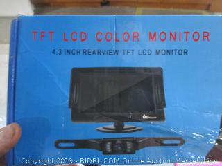 TFT LCD Color Monitor 4.3 inch Rearview