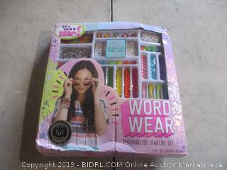 Word Wear Personalized Jewelry Set