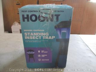 Hoont Indoor/Outdoor Standing  Insect Trap Powers On