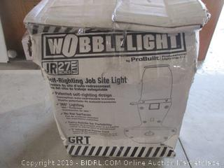 Wobble Light self righting Job site Light