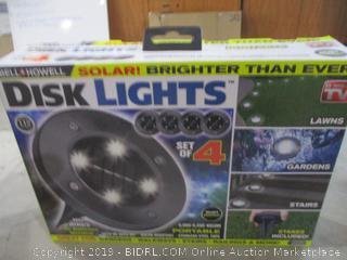 Bell Howell Solar Disk Lights