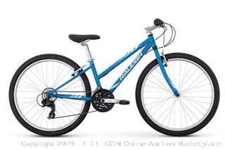 "RALEIGH Bikes Eva 26 Girl's Mountain Bike, 26"" Wheels, Blue, 26"" / One Size (Online $276)"