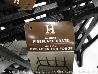 "Open Hearth 18"" Fireplace Grate Lot"