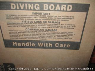 Diving board item
