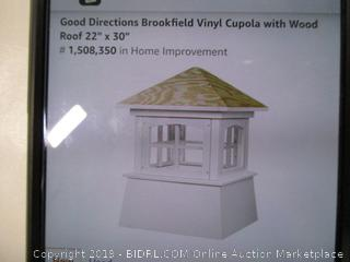 Good Directions Brookfield Vinyl Cupola