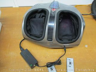 Miko Shiatsu Foot Massager With Deep-Kneading, Multi-Level Settings, And Switchable Heat