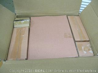 Gibson Home Zen Buffetware 39 Piece Dinnerware Set