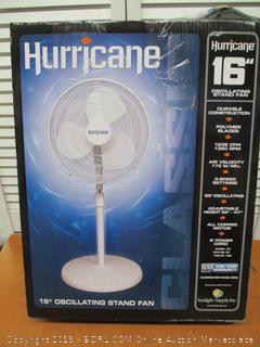 Hurricane 16 Inch Pedestal Fan