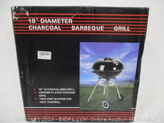 "18"" Charcoal Grill"