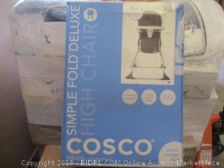 Cosco Simple Fold Deluxe High Chair (Factory Sealed)