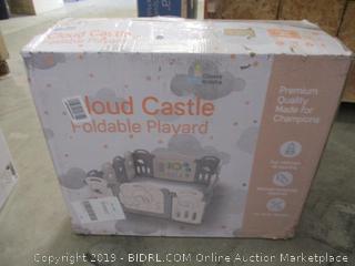 Classy Kiddie Cloud Castle Foldable Playard