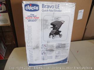Chicco Bravo LE Quick-Fold Stroller, Coal ($249 Retail)