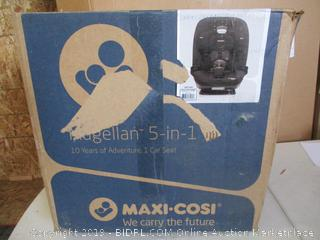 Maxi-Cosi Magellan All-In-One Convertible Car Seat With 5 Modes, Night Black, One Size ($249 Retail)