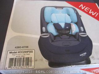 Maxi-Cosi Pria 3-in-1 Convertible Car Seat, Arctic Mist ($279 Retail)