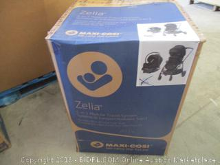 Maxi-Cosi Zelia 5-In-1 Modular Travel System, Night Black, One Size ($399 Retail)