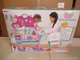 Doc McStuffins Baby All-In-One Nursery (Packages Sealed)
