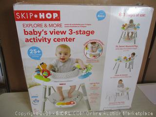 Skip-Hop Explore & More Baby's View 3-Stage Activity Center