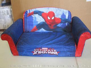 Spin Master- Marshmallow -Children's Spider- Man 2 in 1Flip Open Foam Sofa