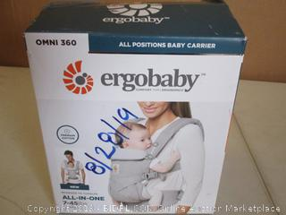 Ergobaby- Omni 360- All Carry Positions Baby Carrier- Pearl Grey