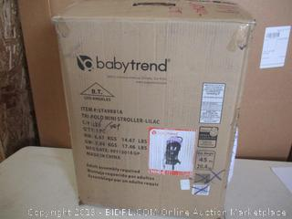Baby Trend- Tri Fold Mini Stroller- Lilac