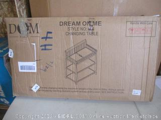 Dream On Me- Changing Table