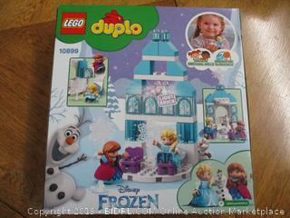 LEGO DUPLO Disney Frozen Ice Castle 10899 Building Blocks, New 2019 (59 Pieces)