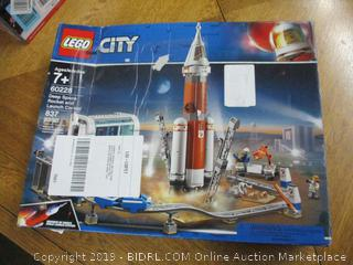 LEGO City Space Deep Space Rocket and Launch Control 60228 Model Rocket Building Kit with Toy Monorail, Control Tower and Astronaut Minifigures, Fun STEM Toy for Creative Play, New 2019 (837 Pieces)