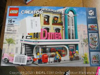 LEGO Creator Expert Downtown Diner 10260 Building Kit, (2480 Pieces)