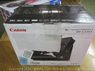 Canon imageFORMULA DR-C225 II Office Document Scanner (Retail $350)