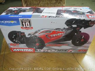 ARRMA 1/8 TYPHON 4X4 3S BLX Brushless 4WD RC Buggy RTR with 2.4GHz Radio (ARA102722) (Retail $350)