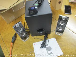Cyber Acoustics Desktop Computer Speaker with Subwoofer
