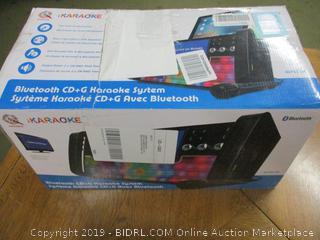 Karaoke KS303B-BT Bluetooth CD&G Karaoke System
