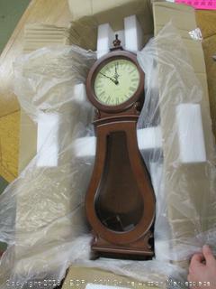 Howard Miller 625-377 Arendal Wall Clock (Retail $450)