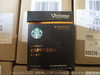 Starbucks Verismo (K-fee) Espresso Dark Roast Pods - 12-Pack