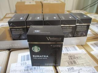 Starbucks Verismo (K-fee) Sumatra Dark Roast Pods - Case of 6 12-Packs