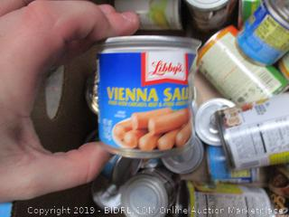 Box Lot Canned Food, Amy's Soup