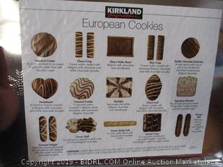 Tin of Kirkland Cookies