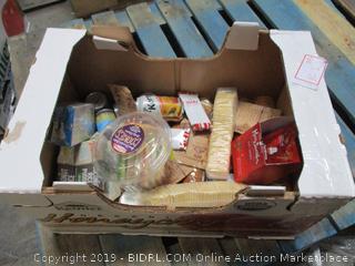 Misc. Box Lot Food, Crackers