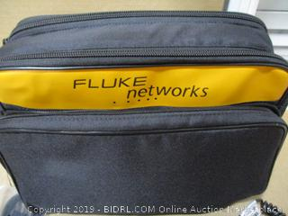 Fluke Networks FTK1375 Multimode Fiber Power Meter and Source with Inspection (Powers On, $5,008 Retail)