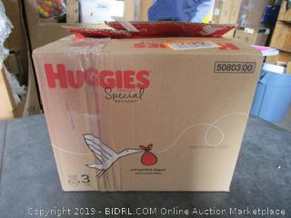 Huggies Special Delivery Diapers Size 3