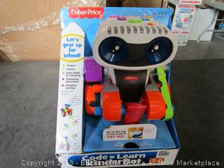 Fisher Price Code Learn KinderBot (Powers On)