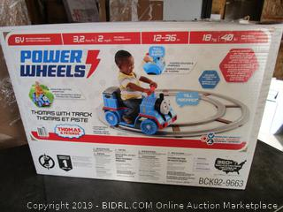 Power Wheels Thomas w/ Track (Factory Sealed)