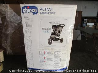 Chicco Jogging Stroller (Factory Sealed) (Opened for Picturing)