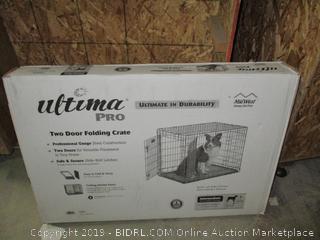 Ultima pro two door folding crate