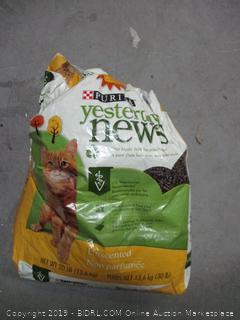 Purina yesterday's news cat litter