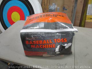 Baseball Toss Machine