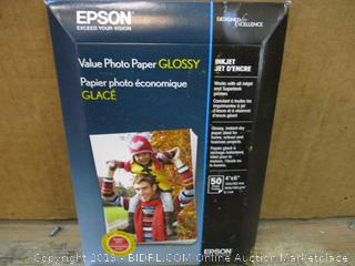 Epson Value Photo Paper Glossy Factory Sealed