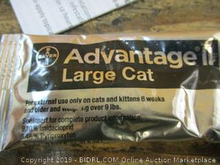 Advantage II Large Cat no box