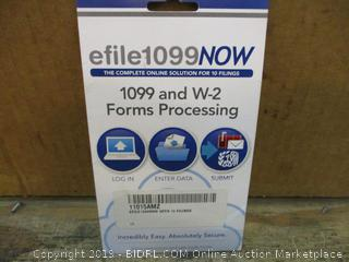 efile 1099NOW  1099 and W-e Forms Processing